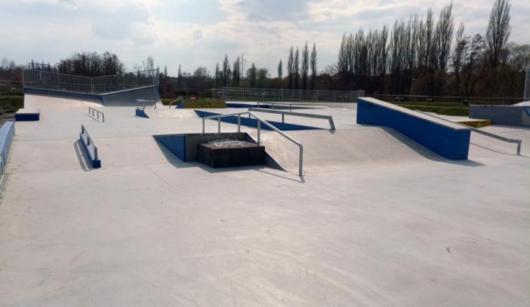 Areál Škoda sport park v Plzni otevřel nové skateboardové hřiště
