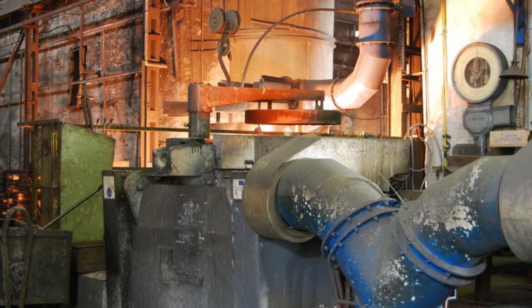 Železárny Hrádek musely zavést kvůli horku častější přestávky