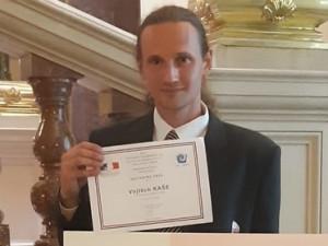 Vědec z plzeňské filozofické fakulty má cenu francouzské ambasády.