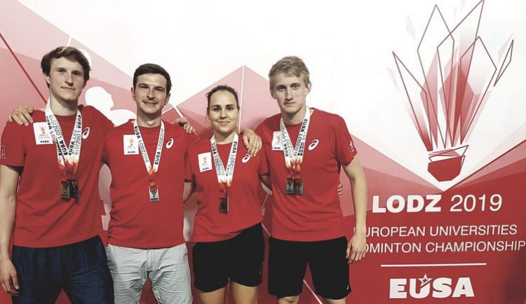 Skvělý úspěch badmintonistů ze ZČU. Jan Louda je mistrem Evropy
