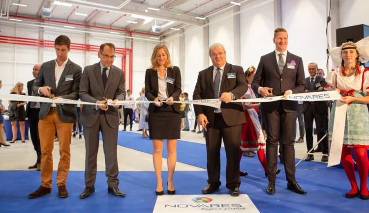 Francouzský Novares postavil za 400 milionů korun továrnu na Klatovsku