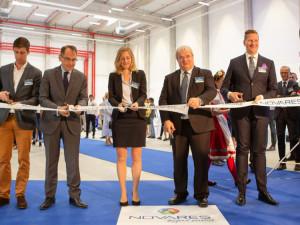 Francouzský Novares postavil za 400 milionů korun továrnu na Klatovsku.