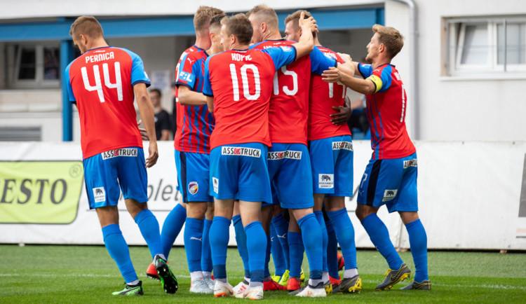 Plzeň vstoupila do nové sezony domácí výhrou 3:1 nad Olomoucí