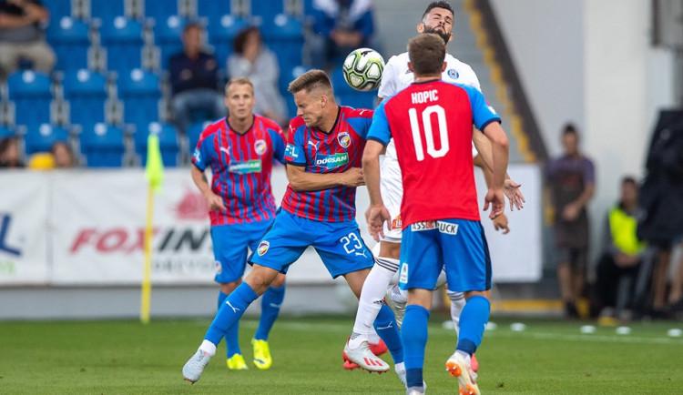 Plzeňský Kalvach si ze zápasu s Olomoucí odnesl zlomený nos