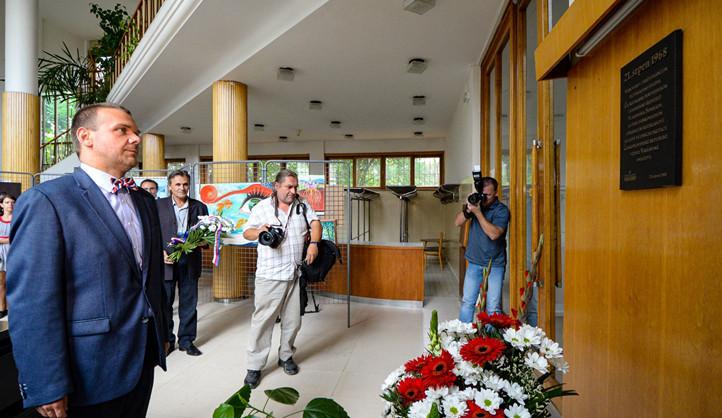 Plzeň si připomněla srpnové události roku 1968, primátor položil kytice