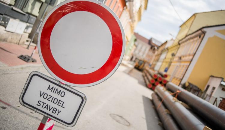 Rekonstrukce Slovanské ulice skončí na konci listopadu