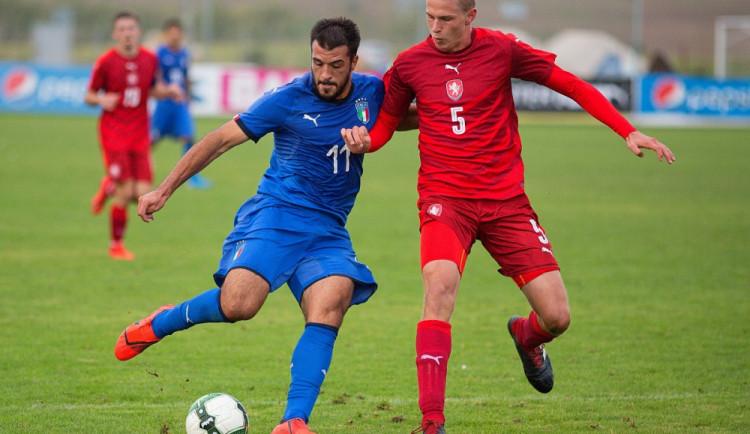 FOTO: Česká dvacítka v Přešticích trápila favorizované Italy. O dobrý výsledek přišla až v závěru