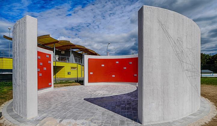 Plzeň vybudovala u fotbalového stadionu nové pamětní místo