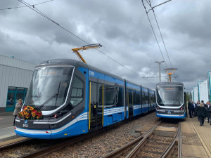 V Chemnitzu začaly vozit cestující první dvě tramvaje ze Škody.